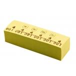 Markeerimisnumbrid, kollane, 1000tk/karp