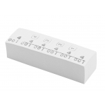 Markeerimisnumbrid, valge, 1000tk/karp
