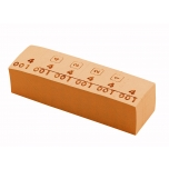 Markeerimisnumbrid, oranž, 1000tk/karp